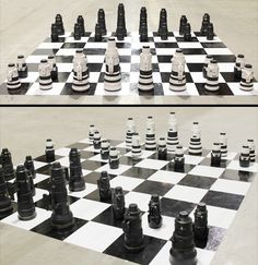 nikon vs canon chess set