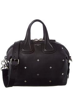 Givenchy Nightingale Small Embellished Leather Satchel