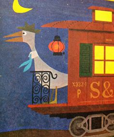 Vintage Kids' Books My Kid Loves: A Dragon in a Wagon and Other Strange Sights