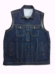 Sleeveless Denim Jacket made by SQ Jeans visit us on http://www.sqjeans.com