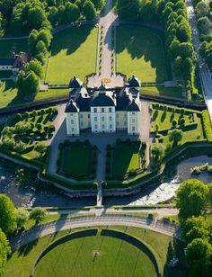 Strömsholm - Strömsholm. Slottet, uppfört på 1670-talet...