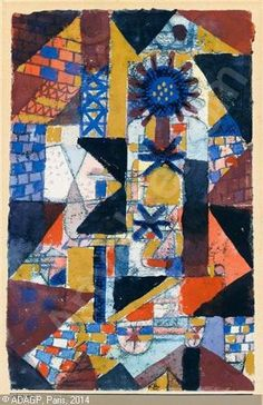 KLEE Paul - Dätcherblume (Rooftop flower)