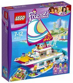 LEGO Friends 41317 : Le catamaran - Juin 2017