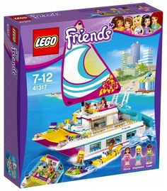 lego friends 41317 le catamaran juin 2017