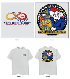 97a8e31a Region rally t-Shirt. North Region Georgia FFA Ffa, Rally, Georgia