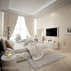 Regal bedroom for mommy
