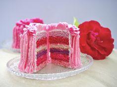 Rainbow cake/ smash cake