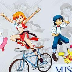 Pokeshipping ash x misty Pokemon