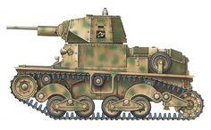 """""""Carro Armato L 6/40, Battaglione 'Lupo', Xª Flottiglia Mas, Secteur du Piémont, RSI, automne 1944"""""""