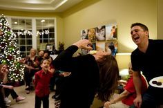 A Not-So-Silent Night. Games to play at your family Christmas. SO want to do this!