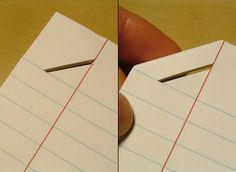 Stapleless Paper by Sherwood Forlee » pretty cool! For all those times I don't have a stapler!