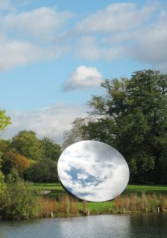 'Sky Mirror' installation by Anish Kapoor — T H E •• T W O
