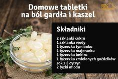 Przepis na domowe tabletki do ssania na ból gardła i kaszel - DomPelenPomyslow.pl Natural Remedies, Health, News, Green, Kitchen, Beauty Tutorials, Healthy Eating, Cucina, Salud