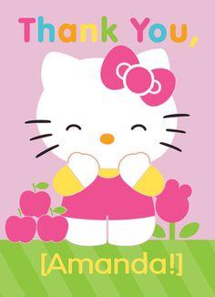 Hello Kitty Thank You