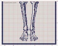 Crochet...Gotta Love It! Blog: Life size filet skeleton!
