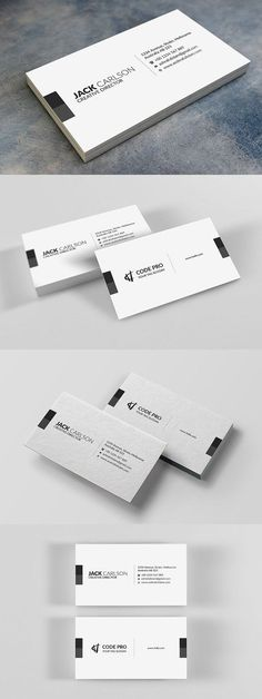 Discover more than business cards to create a professional identity in any field. Examples Of Business Cards, Luxury Business Cards, Elegant Business Cards, Unique Business Cards, Calling Card Design, Name Card Design, Branding Design, Design Logos, Graphisches Design