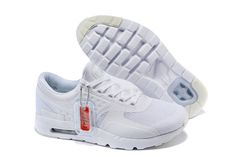 Men/Women Nike Air Max Zero All White Limited Air Max Zero Women - Nike official website Up to 50% discount