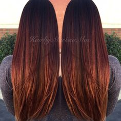 71 most popular ideas for blonde ombre hair color - Hairstyles Trends Hair Color Auburn, Ombre Hair Color, Deep Auburn Hair, Ombre Style, Hair Colour, Brown Blonde Hair, Brunette Hair, Hair Color And Cut, Hair Highlights