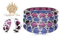 Accessorize your summer outfit with these beautiful @angeliquedparis bracelets! #bracelets #orchid