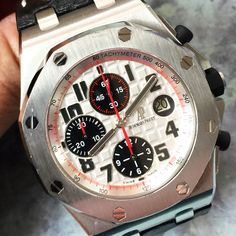 Up for sale is One of my personal ⌚️! Of course is a complete set, with open papers. Contact us now all pandas that come to TTS fly away fast. www.thetimeshoppers.com #thetimeshoppers #audemarspiguet #royaloakoffshore #steel #watchporn #wristporn #lovewatches #watchoftheday #watches #miamibeach #westpalmbeach #ftlauderdale #womw #wruw #limited #luxury #style #stylish #floridakeys #naplesfl #sarasota #gold #watchesofinstagram #cars #mensfashion #beautiful #theluxurylife #baselworld #panda…