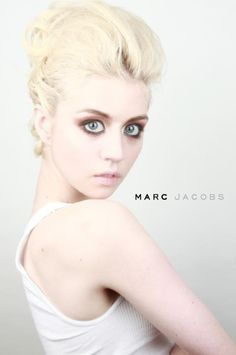 Marc Jacobs..omg its that girl from America next top model!