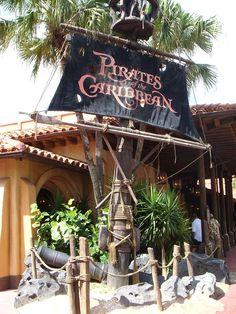 Pirates of Caribbean, Magic Kingdom, set/2009