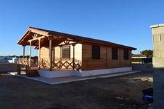 Casa de madera construida por DAVID CARPINTERÍA. Modelo Alice, 80m2
