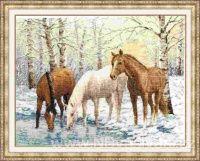 ZR-Z037 Koně u řeky
