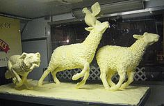 Butter sculpture by jimm Scannell