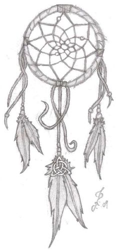 Celtic dream catcher