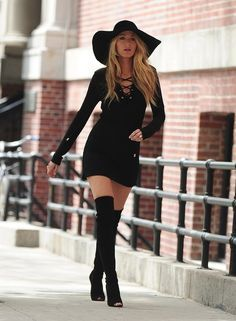 When she rocked this hat better than anybody has rocked a hat before.   19 Times Blake Lively Made You Wish You Were Blake Lively