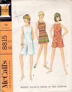 McCall's 8815 sewing pattern