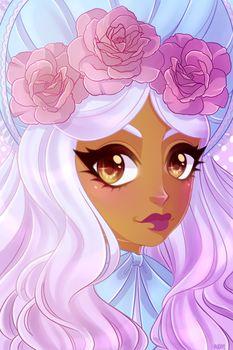 DeviantArt: More Like Pastel Goth Girl by missybird