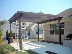 how to build a pergola over a patio #pergolaplans
