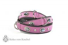KvK Collar Bling Lilac & Dark Grey