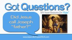 With Father's Day only a few days away, our thoughts turn to our earthly fathers.  Have you ever wondered what Jesus called Joseph?  Did He call Joseph father (abba in the Greek)?  Read the seven points that might reveal the answer.    https://reasonsforhopejesus.com/did-jesus-call-joseph-father/