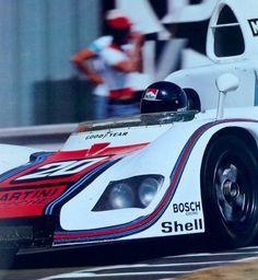 Jacky Ickx, Porsche 936, Le Mans 1976 (Automobile Year)...