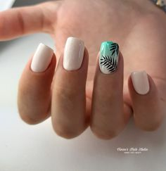 Nail Art Designs and Colors for Summer Summer Acrylic Nails, Best Acrylic Nails, Acrylic Nail Designs, Summer Nails, Diy Nails, Cute Nails, Pretty Nails, Short Nail Designs, Summer Nail Designs