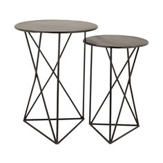 Geometric Metal Accent Tables https://joyfulhomegoods.com/collections/tables/products/lazy-susan-geometric-metal-accent-tables-8985-052-s2?variant=20305648007 Free gift for our Pinterest fans! $5 gift card, use code PIN5 to redeem!