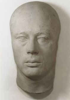 James Dean's life mask, which John Gilmore owned before hawking it on the cheap in the early 70s. It used to be common practice to cast these creepy keepsakes—the converse of death masks—from the faces of still-breathing celebrities and other notable individuals. Photo by John Gilmore.