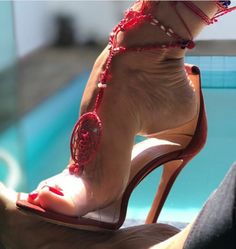 Stilettos, Stiletto Heels, Sexy Legs And Heels, Sexy High Heels, Nylons Heels, Sexy Sandals, Gorgeous Feet, Sexy Toes, Female Feet