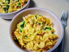 Old Fashioned Chicken Noodle Casserole. Looks good and easy but I'll probably substitute the mix veggies with broccoli.