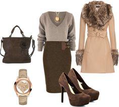 """""""Winter Office Wear"""" by rogiesangel on Polyvore"""