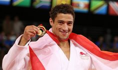 Ashley McKenzie wins gold for England in judo under 60kg at Commonwealth Games