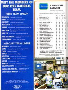 1975-4-19-PLAYOFFS-VANCOUVER-CANUCKS-NM-PROGRAM-VS-MONTREAL-CANADIENS-KEN-DRYDEN