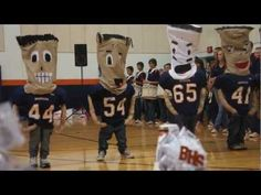 Pillow People 1st Place Performance at Teacher Talent Show - YouTube