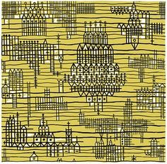 Sheila Bownas, artist and pattern maker    chelsea fabric 3, 1950-59