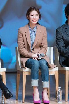 Suzy Korean Girl, Asian Girl, Miss A Suzy, Bae Suzy, Business Casual Outfits, Korean Celebrities, Korean Model, Korean Actresses, Korean Outfits