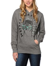 A soft and cozy fleece construction paired with the graphic of a cat wearing a headdress and glasses makes for the purrrrrfect blend of comfort and standout style.