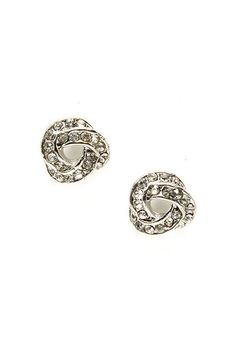 Crystal Infinity Earrings, Beautiful.